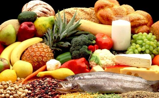 mat som innehåller protein